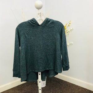 Ella Moss sweater with hoodie size 8-10
